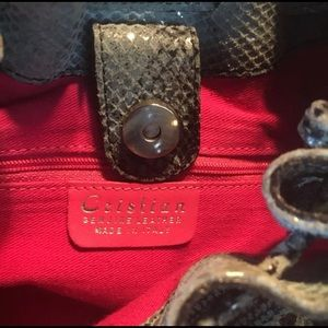 Handbags - Cristian of Italy Leather Handbag